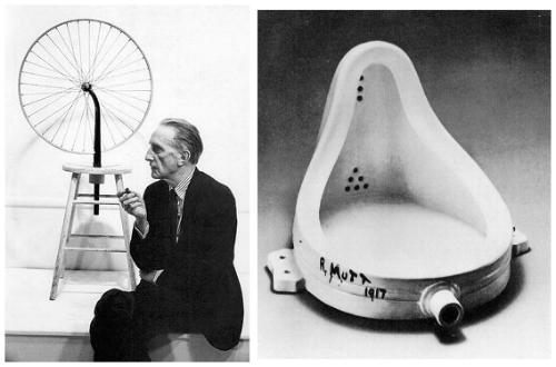 Annette Messager Duchamp-y-el-ready-made