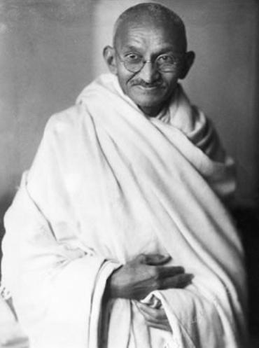 Mahatma Gandhi, politico y pensador hindu