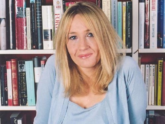 J. K. Rowling, autora de Harry Potter