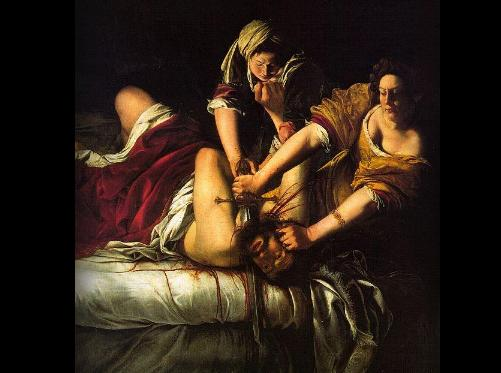 Judit y Holofernes de Artemisia Gentileschi