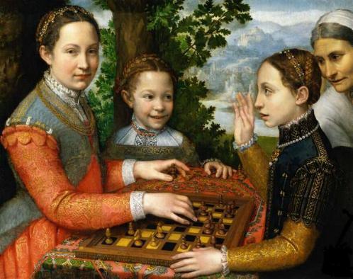 El Juego de Ajedrez de Sofonisba Anguissola