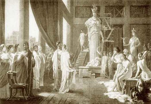 Aspasia, filósofa y meretriz de la Antigua Grecia