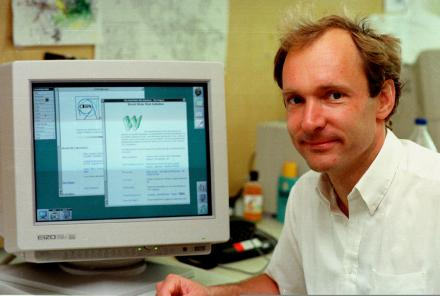 Tim John Berners-Lee, el padre de la Web