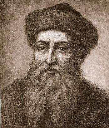 Johannes Gutenberg, creador de la imprenta
