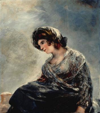La lechera de Burdeos por Goya