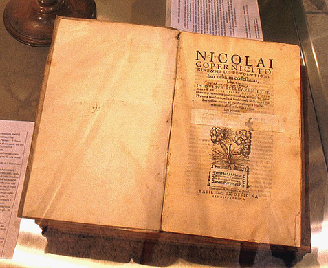 Libro de Nicolas Copernico