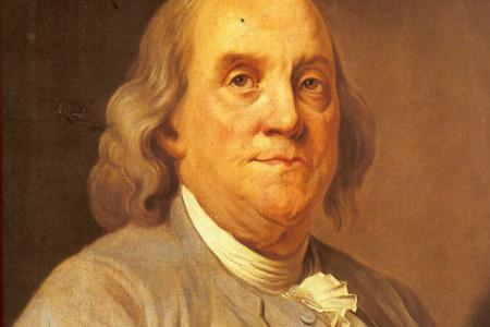 Benjamín Franklin, científico y político estadounidense