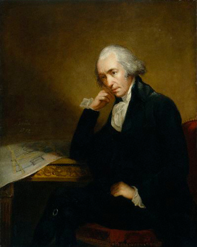 James Watt y la máquina a vapor