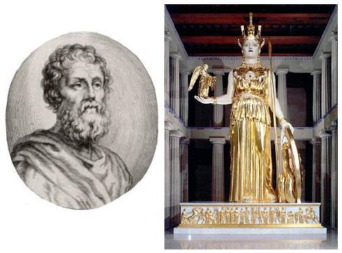 Fidias, el gran artista de la Antigüedad