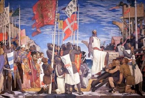 Ricardo I en las Cruzadas