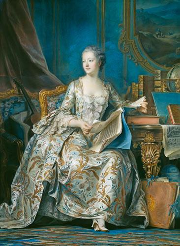 Madame Pompadour, belleza e ilustración