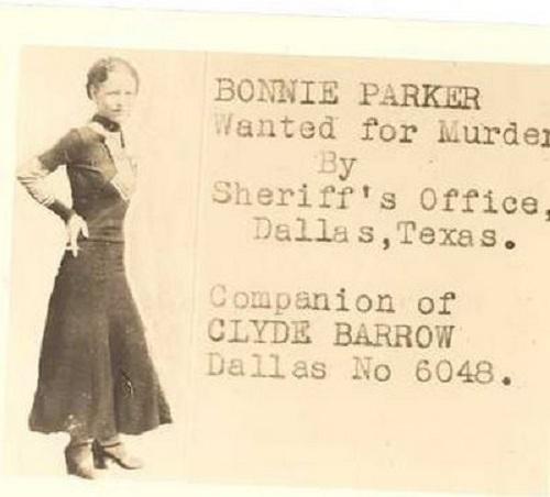Bonnie Parker, la gángster más famosa