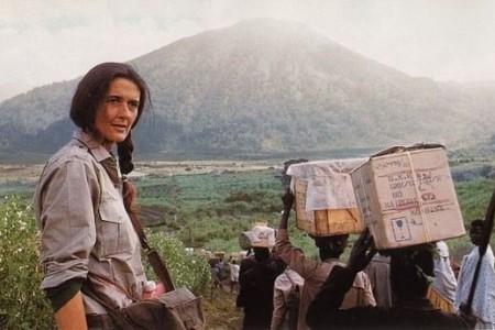 Diane Fossey, defensora de los gorilas