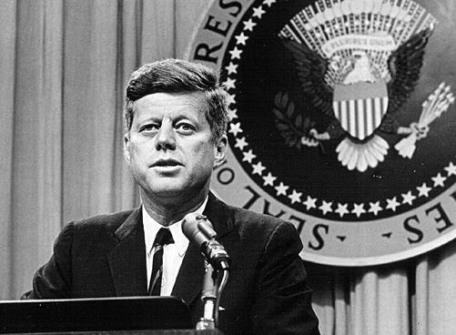 John Fitzgerald Kennedy, presidente de EE.UU