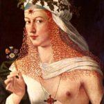 Lucrecia Borgia, hija del Papa Alejandro VI