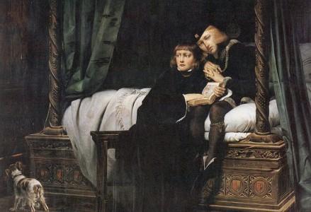 Eduardo V, prisionero de la Torre de Londres