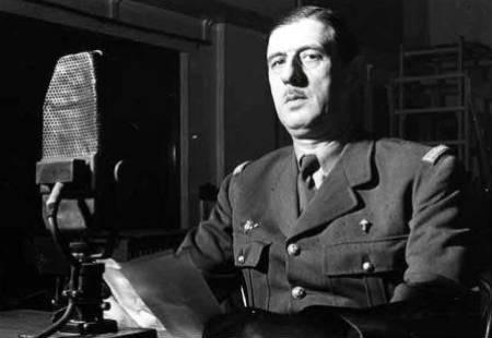 Charles De Gaulle, líder de la Francia libre