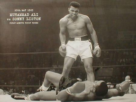Mohammed Ali o Cassius Clay, campeón de boxeo