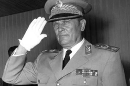 Mariscal Tito, líder de la Yugoslavia comunista