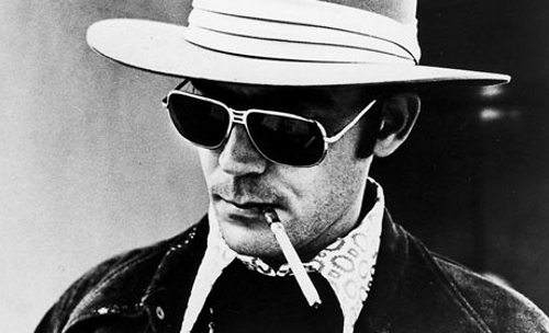 Hunter Thompson, creador del periodismo Gonzo