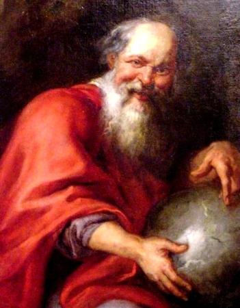 Demócrito, creador del átomo