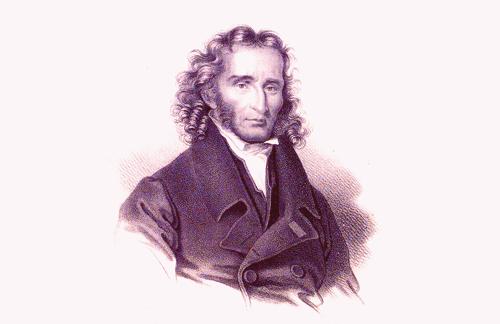 Niccolò Paganini, virtuoso del violín