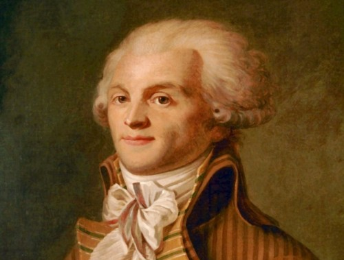 Maximilien Robespierre, jefe del Terror
