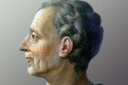 El barón de Montesquieu, pensador ilustrado