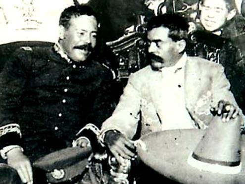 Zapata y Pancho Villa