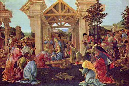 Adoracion de los Reyes Magos